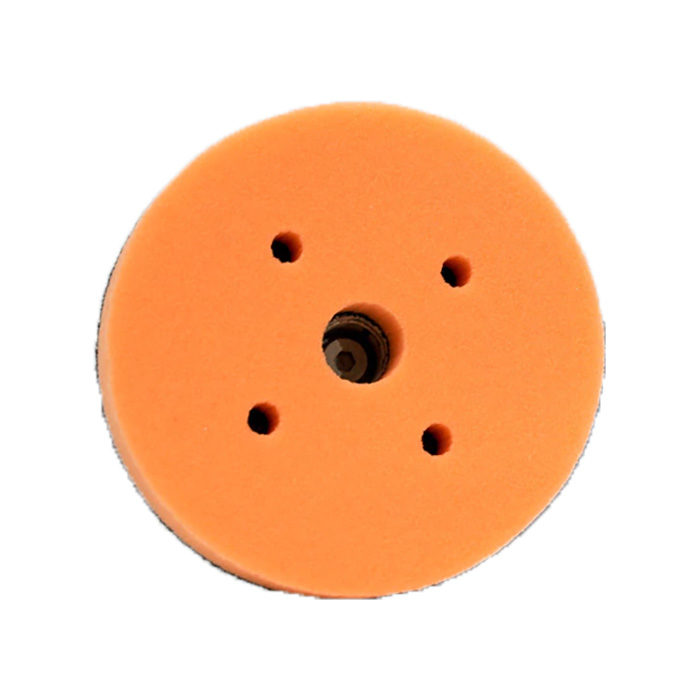 5 inch Medium Cut Orange Foam Pad