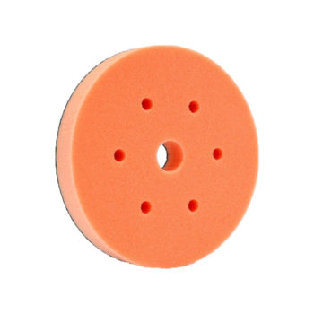 6 inch Medium Cut Orange Foam Pad
