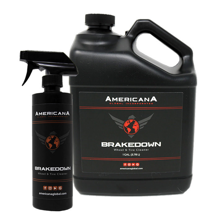 Americana Global Brakedown Wheel & Tire Cleaner
