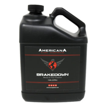Americana Global Brakedown Wheel & Tire Cleaner Gallon